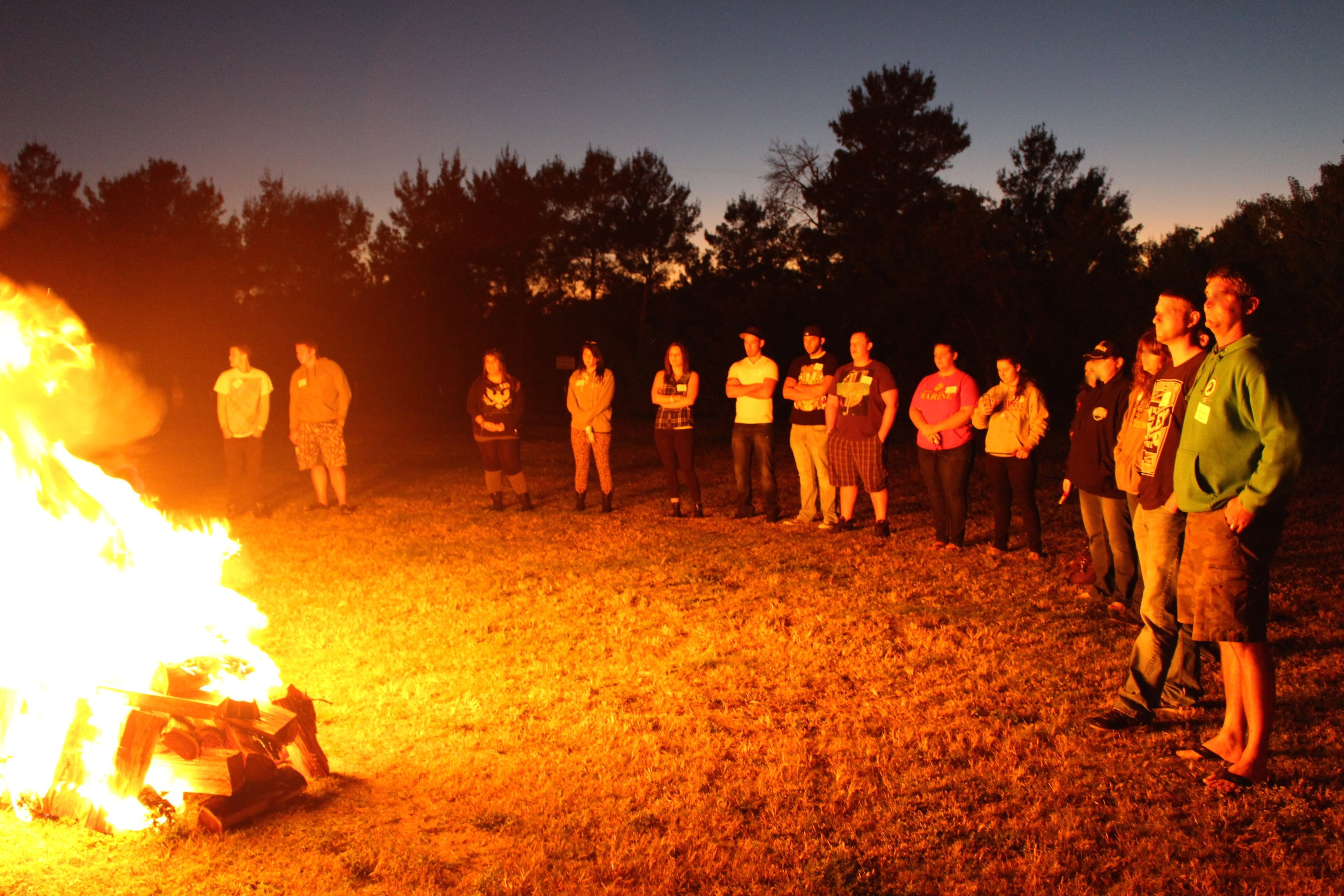 Fire Lighting Ceremony