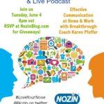 Karen Interviewed on Nozin Podcast about Effective Communicaton