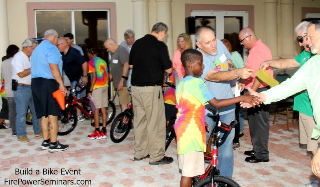 Build a Bike, Empower a Child Event Fire Power Seminars 1