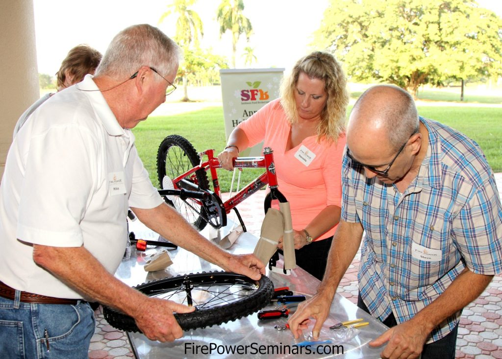Build a Bike Event Fire Power Seminars Building the Bikes