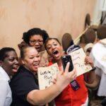 Fire Power Seminars Presents Board Breaking at Happy Black Woman Mindset Retreat in Tampa!