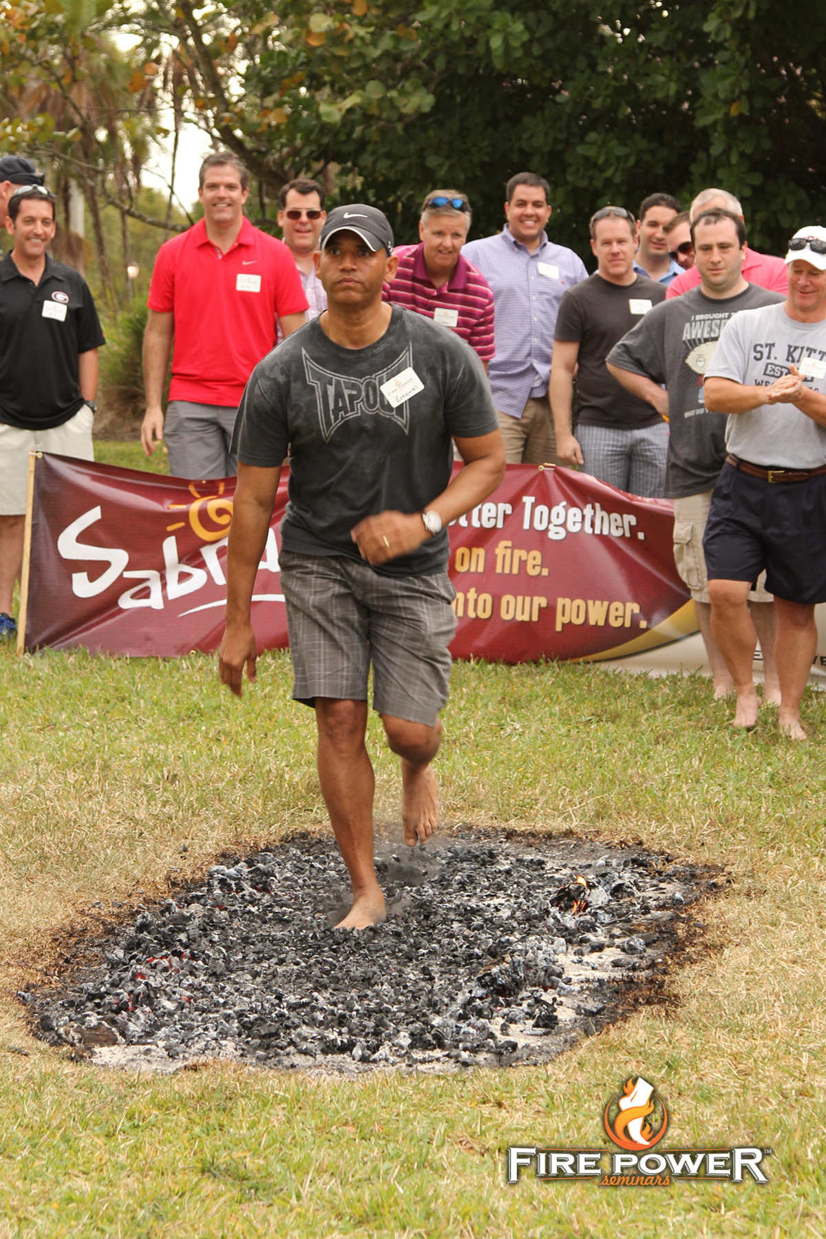 Inspirational Leadership Corporate Fire Walk