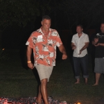 Company Fire Walk Leadership Training
