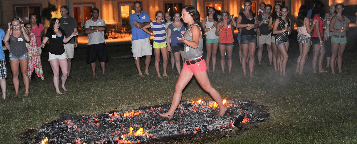 Firewalking—The Ultimate Challenge