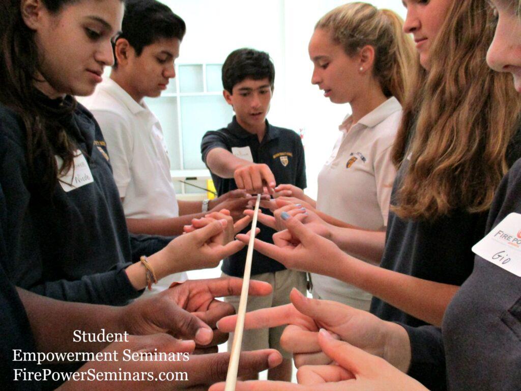 Fire Power Seminars Student Empowerment Seminars Communication Activity