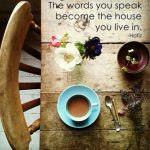 The Power of Positive Self Talk from Fire Power Seminars Blog - The Words you Speak from Hafiz