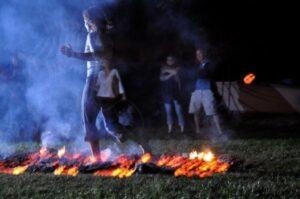 Empowerment Fire Walk with Fire Power Seminars