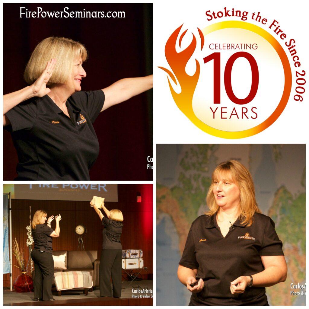 Fire Power Seminars Karen Pfeffer and Connie Phelan