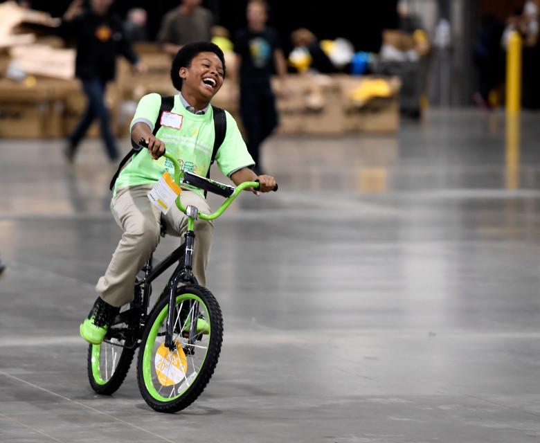 Building Bikes Charity Guinness World Record Bike Build